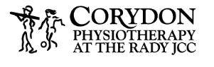Corydon Physio Rady logo and text
